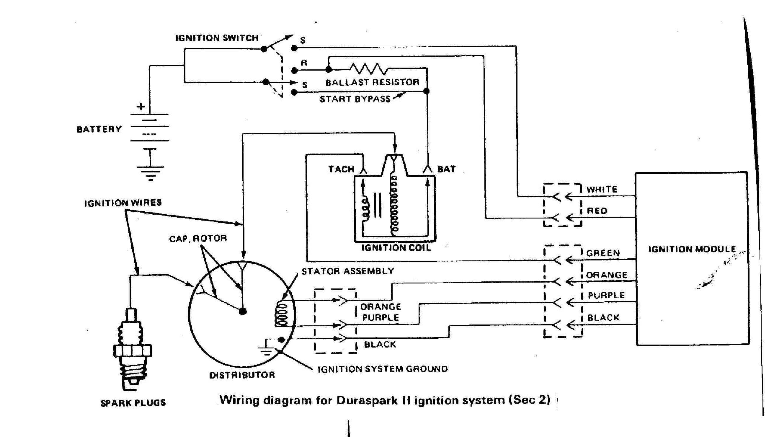 Diagram Duraspark Ignition Wiring Question